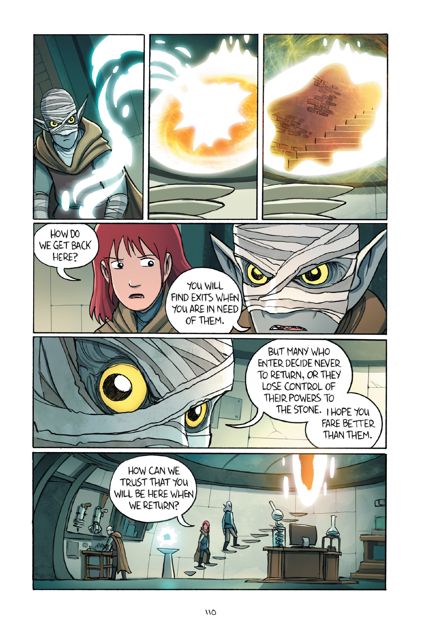 Read online Amulet comic -  Issue #7 - 110