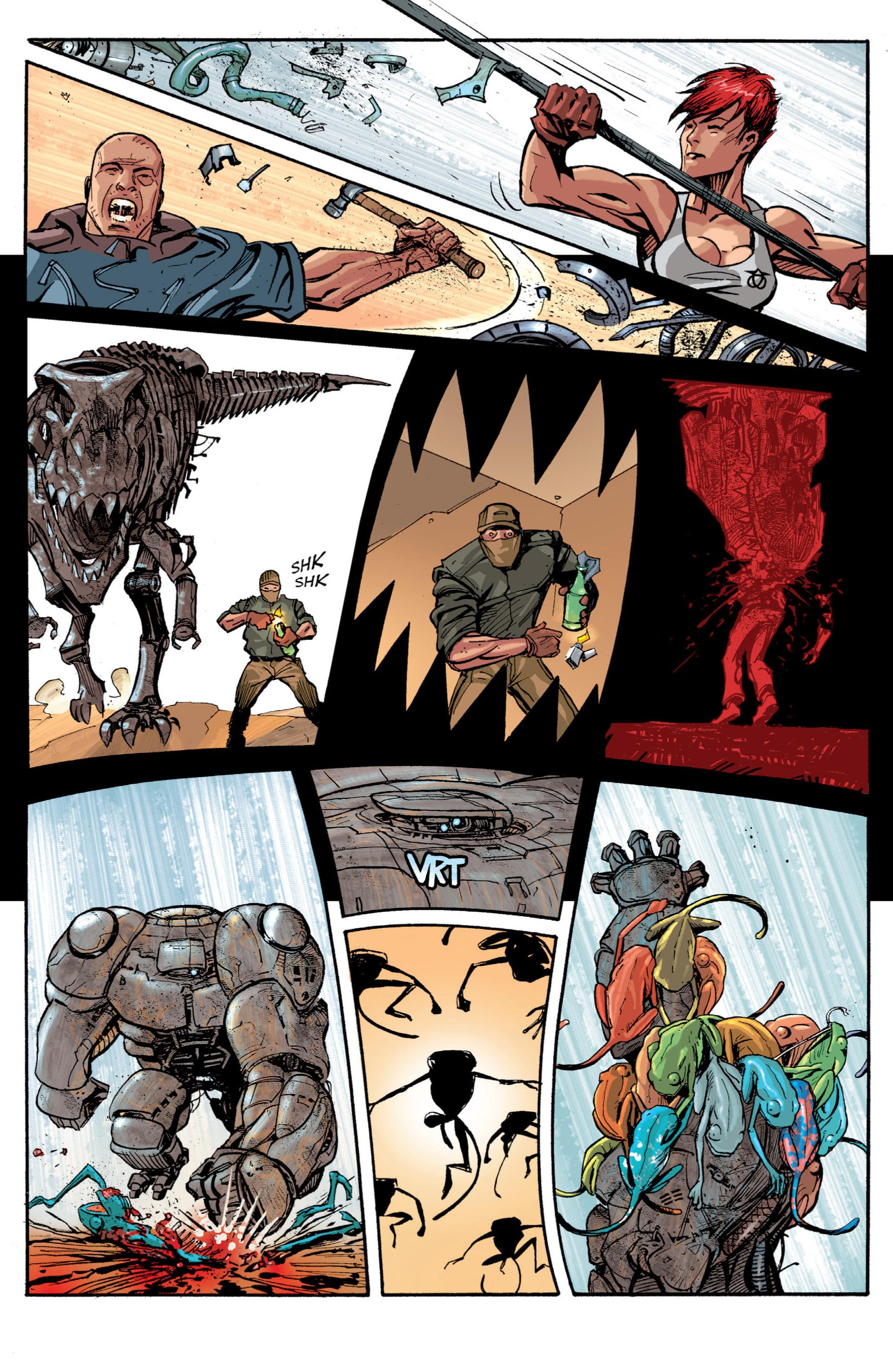 Read online Planetoid comic -  Issue # TPB - 145