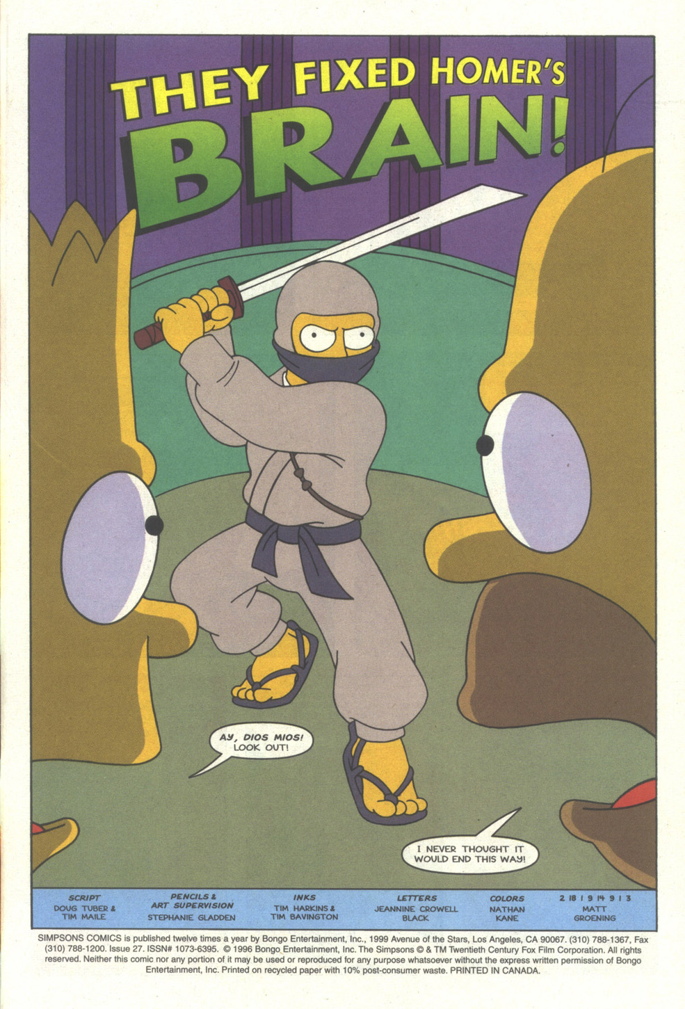 Read online Simpsons Comics comic -  Issue #27 - 2