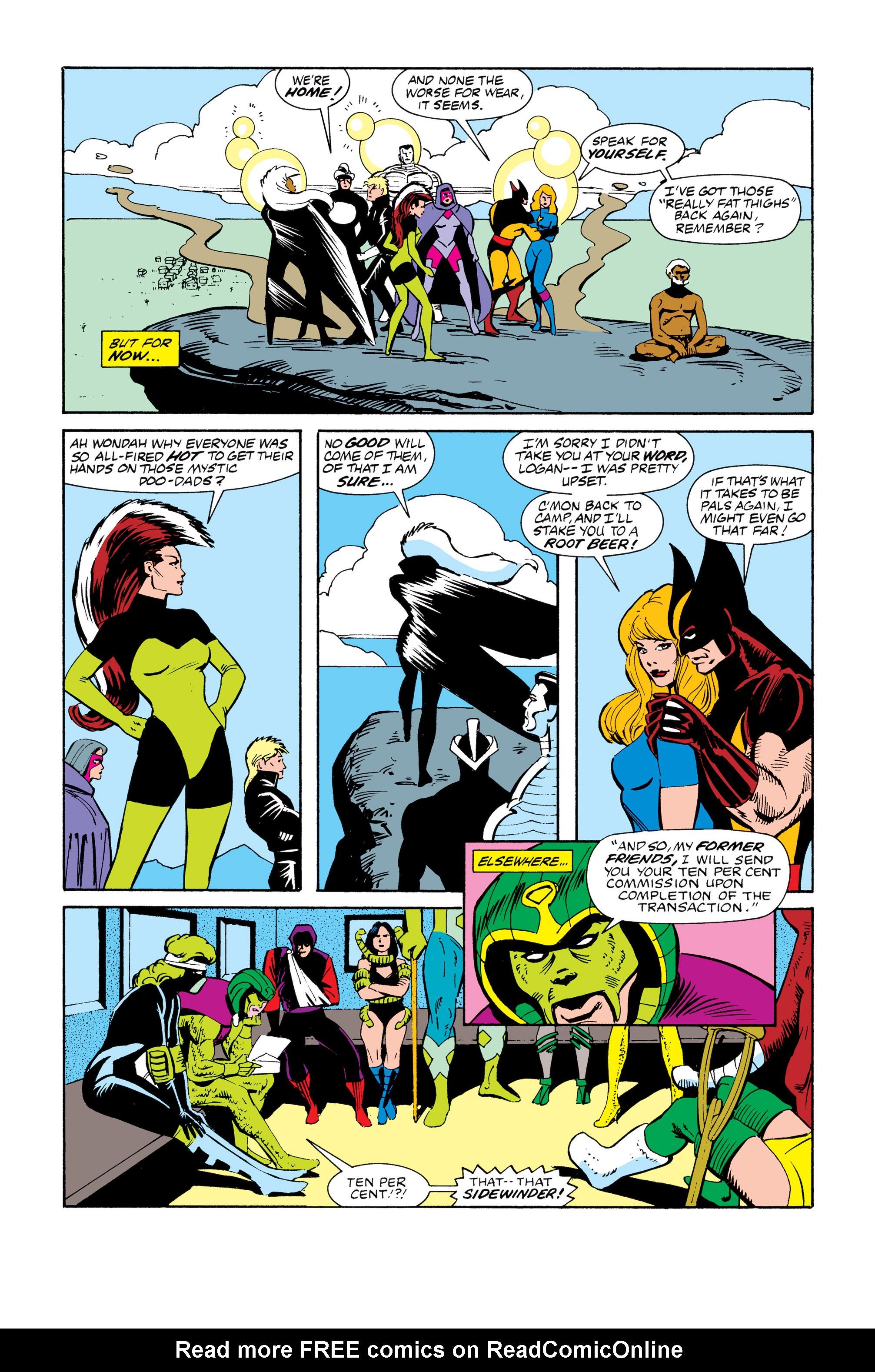 Read online Uncanny X-Men (1963) comic -  Issue # _Annual 13 - 36