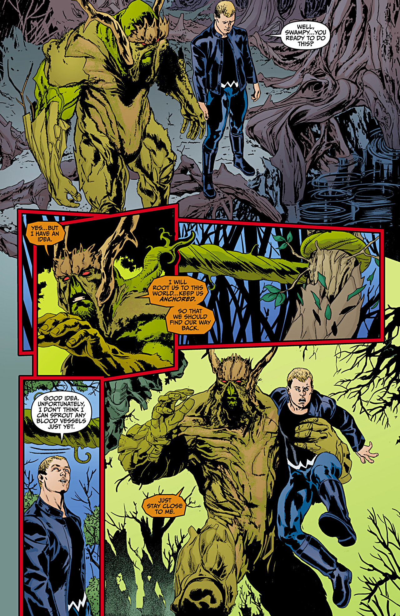 Read online Animal Man (2011) comic -  Issue #12 - 16