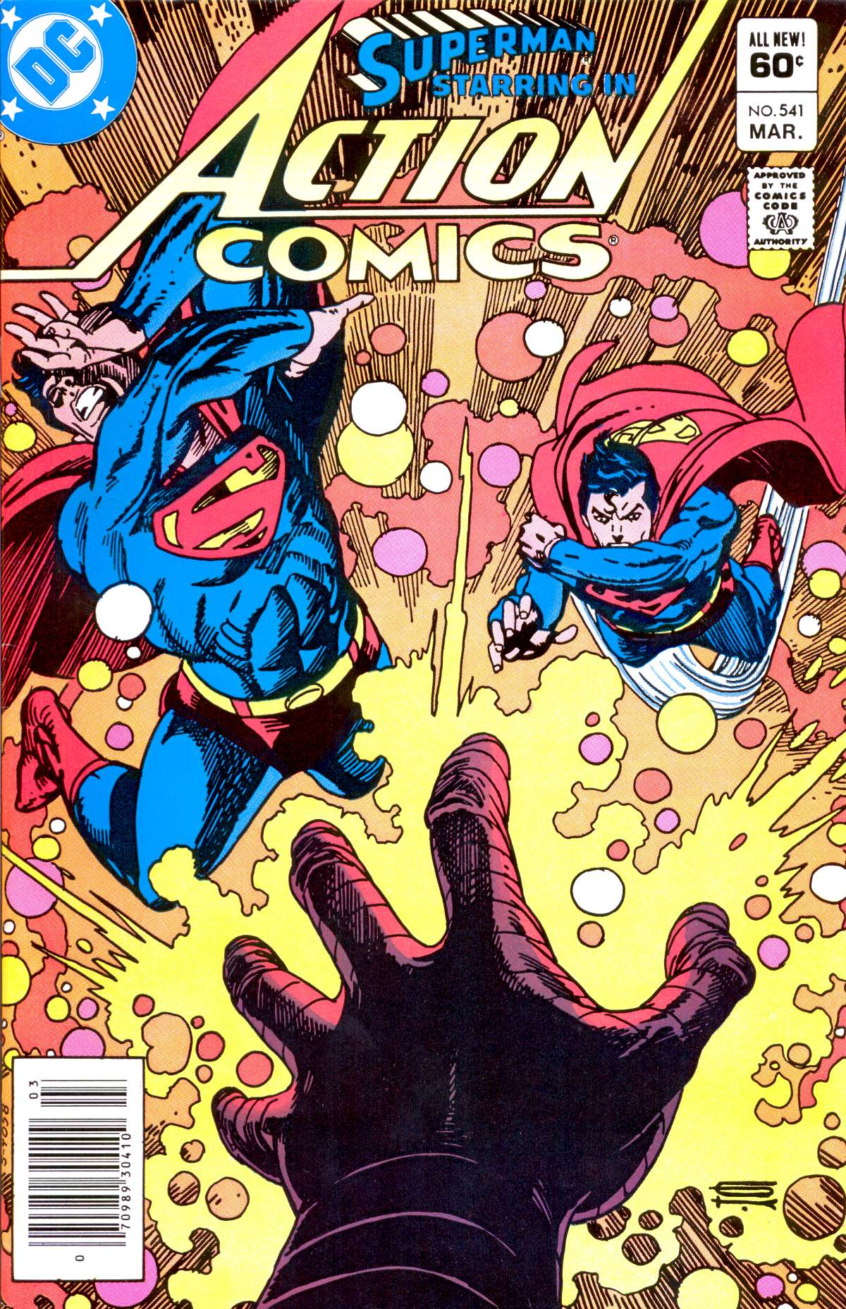 Read online Action Comics (1938) comic -  Issue #541 - 1