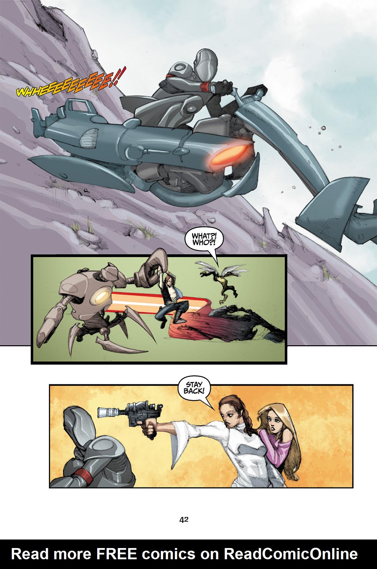 Read online Star Wars Omnibus comic -  Issue # Vol. 33 - 124