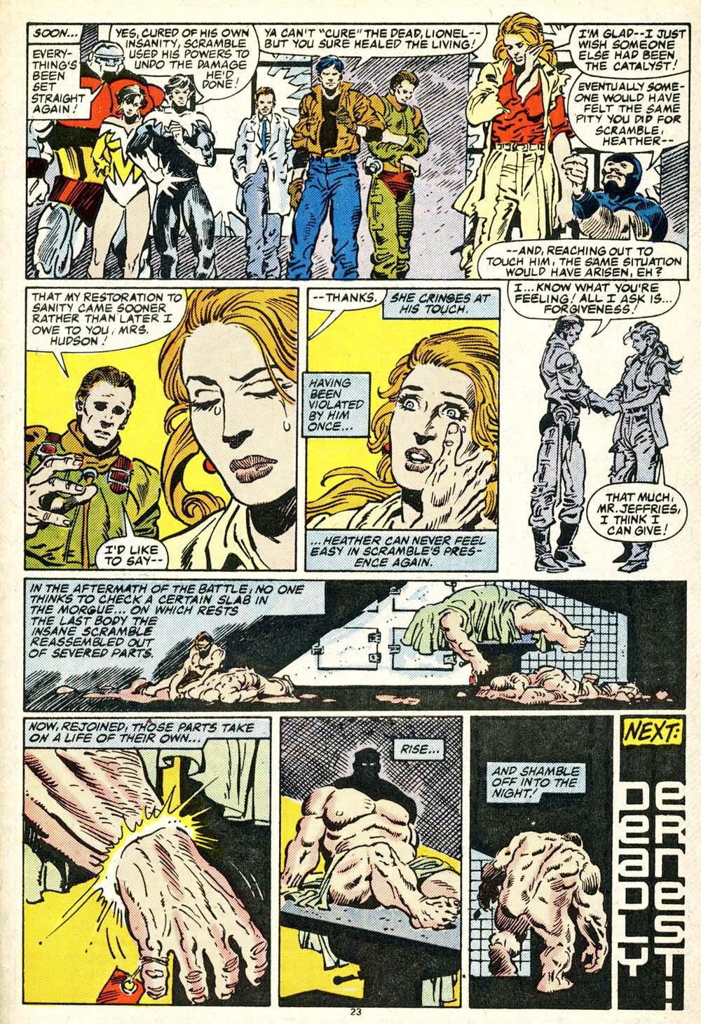 Read online Alpha Flight (1983) comic -  Issue #30 - 25