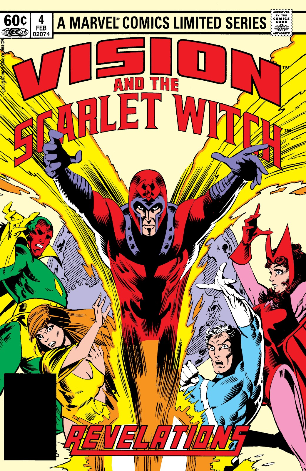 The Vision and the Scarlet Witch (1982) issue 4 - Page 1