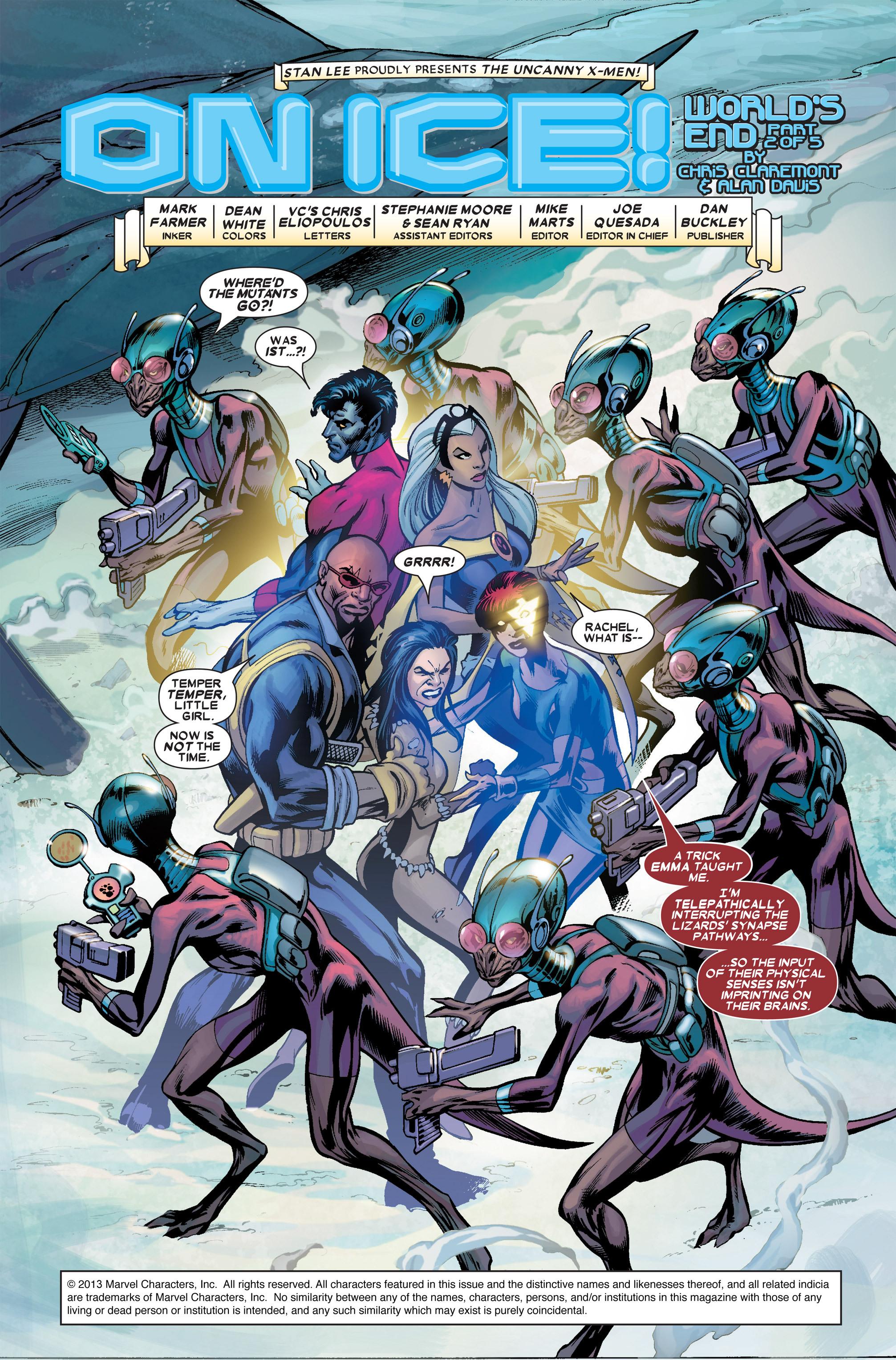 Read online Uncanny X-Men (1963) comic -  Issue #456 - 3