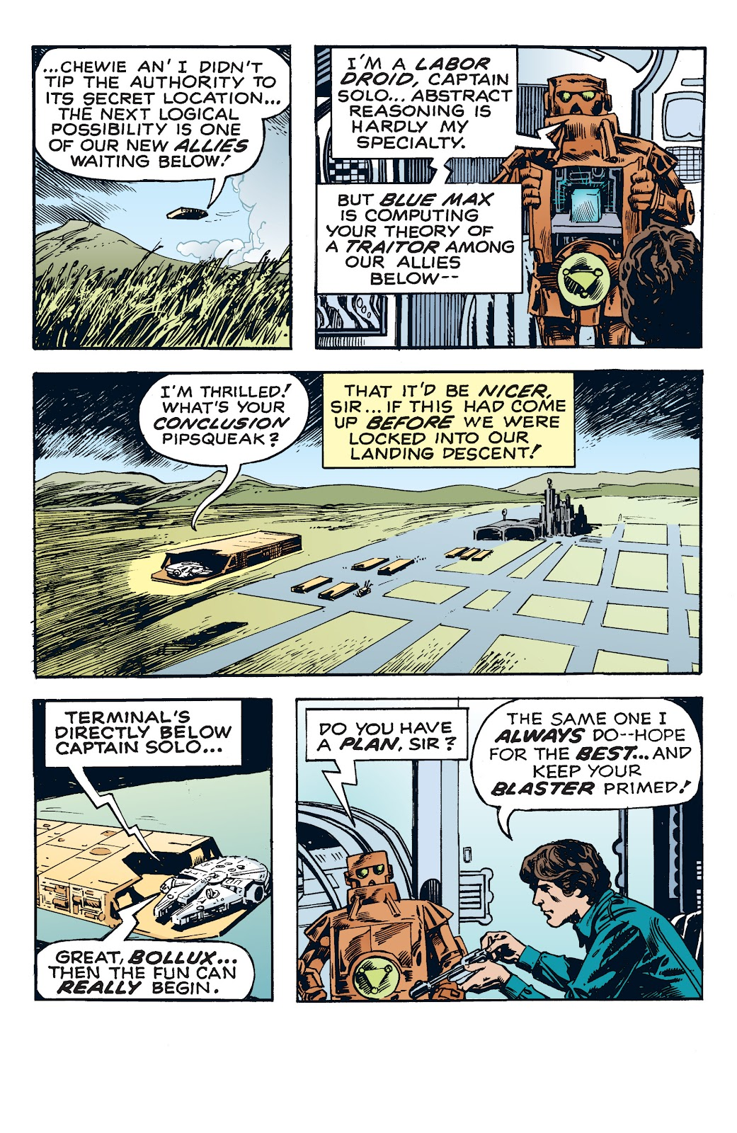 Read online Star Wars Legends: The Newspaper Strips - Epic Collection comic -  Issue # TPB (Part 4) - 22