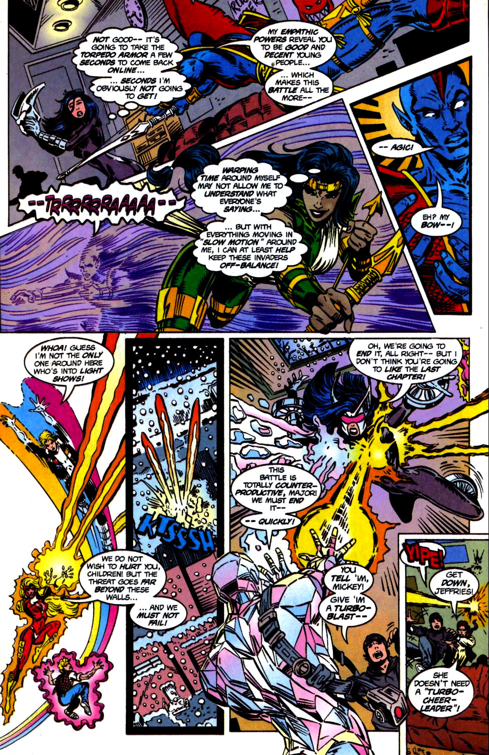 The New Warriors Issue #68 #72 - English 17