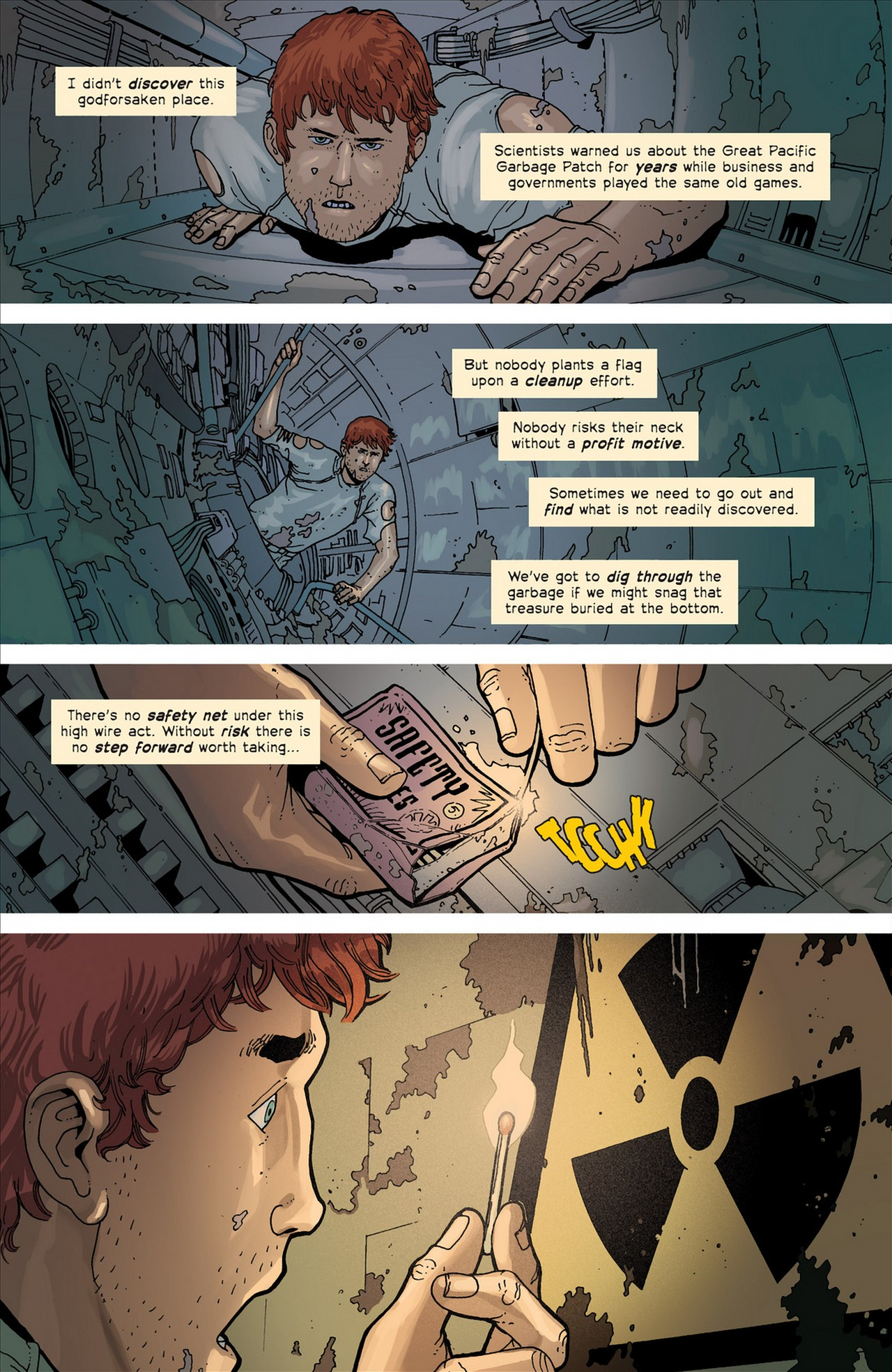 Read online Great Pacific comic -  Issue #4 - 22