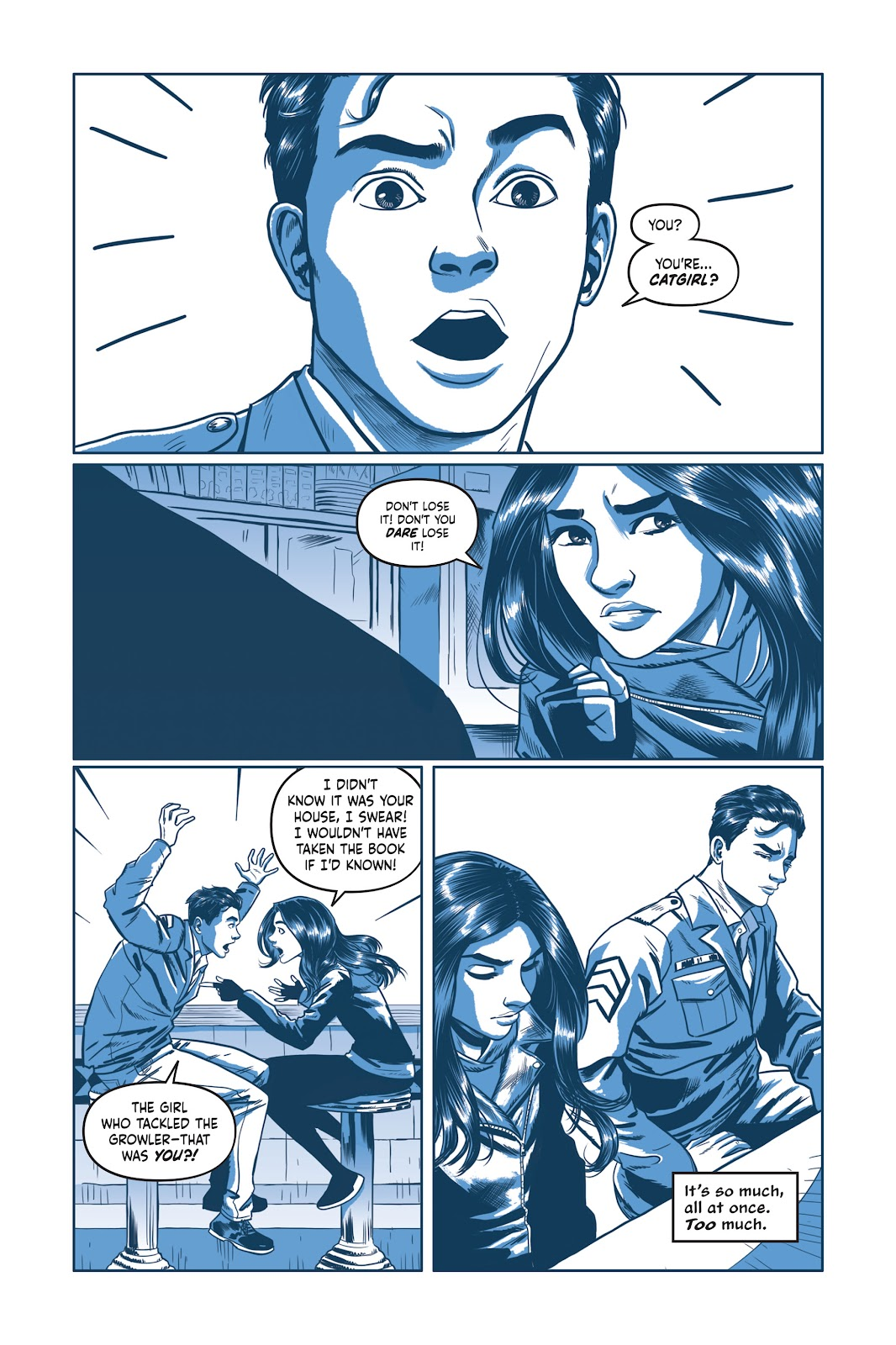 Read online Under the Moon: A Catwoman Tale comic -  Issue # TPB (Part 2) - 61