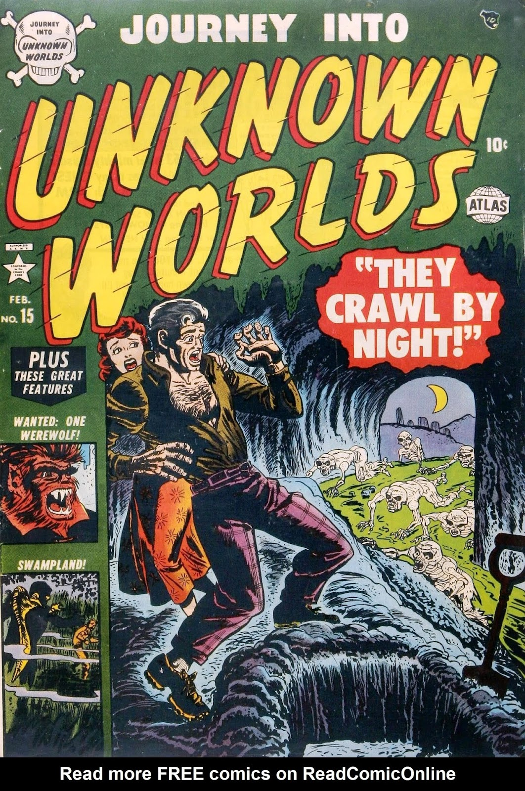 Journey Into Unknown Worlds (1950) issue 15 - Page 1