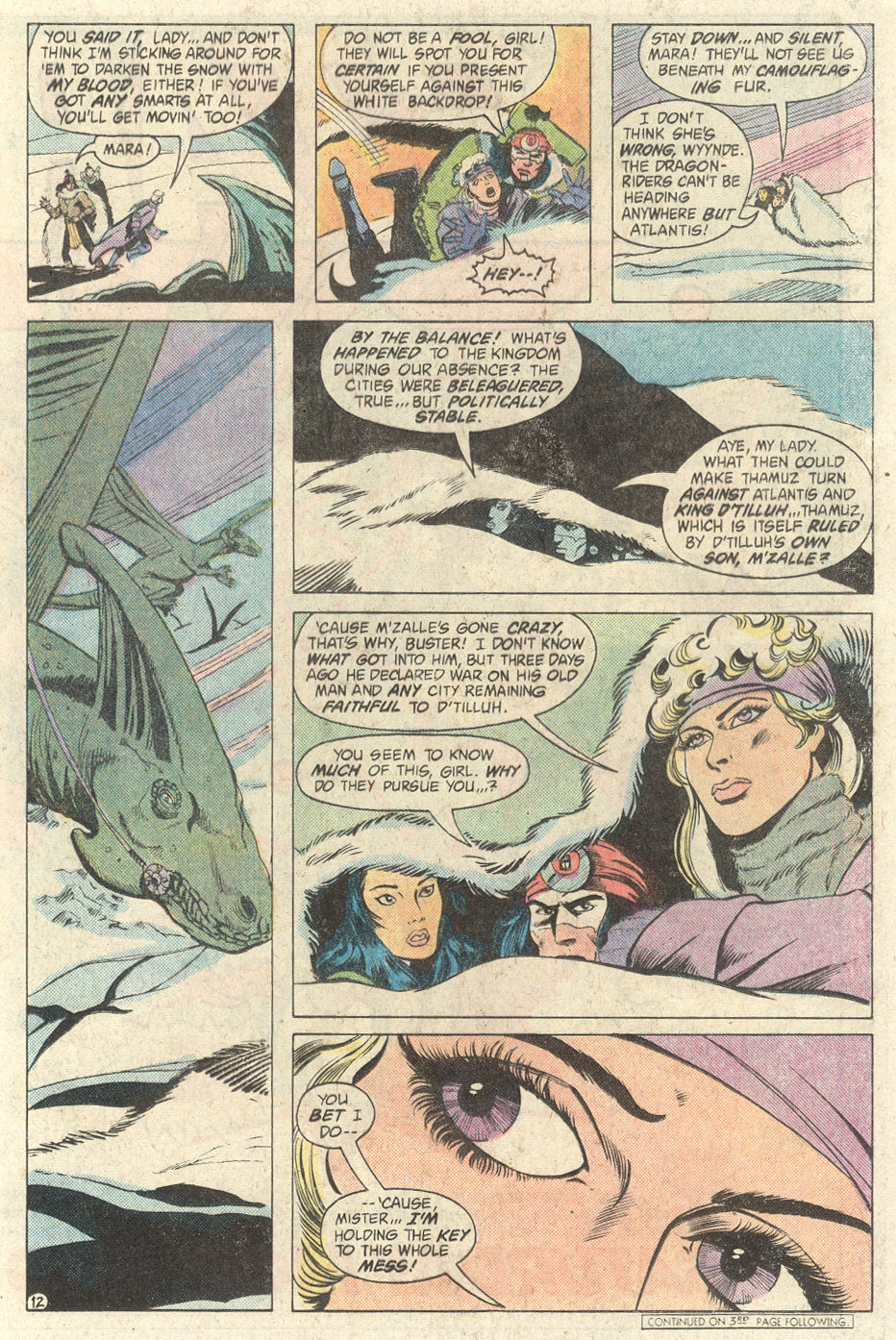 Read online Arion, Lord of Atlantis comic -  Issue #2 - 12