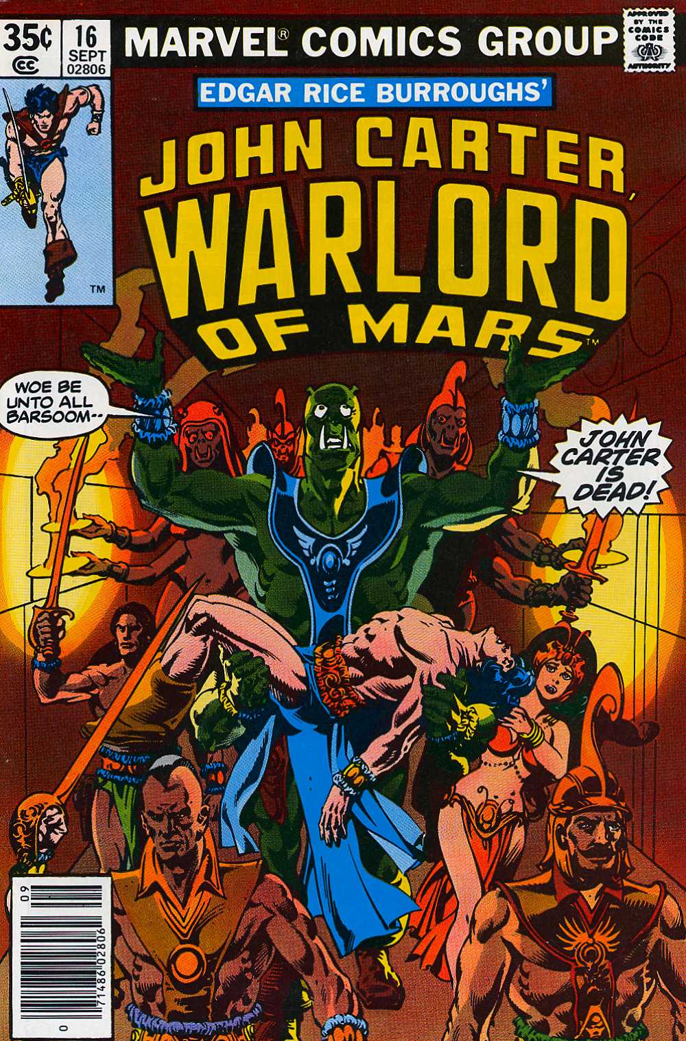 John Carter Warlord of Mars issue 16 - Page 1