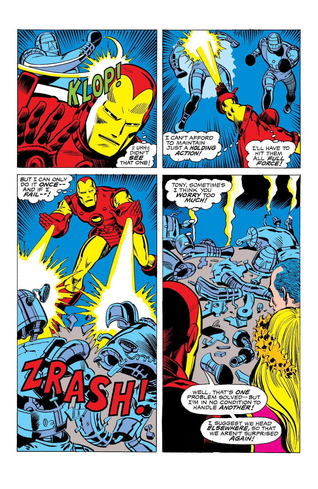 Read online Marvel Masterworks: The Invincible Iron Man comic -  Issue # TPB 10 (Part 3) - 30
