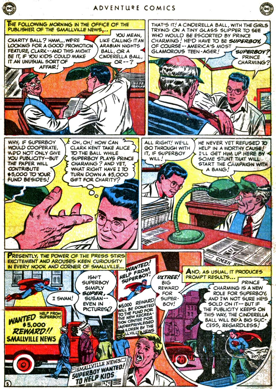 Read online Adventure Comics (1938) comic -  Issue #160 - 7