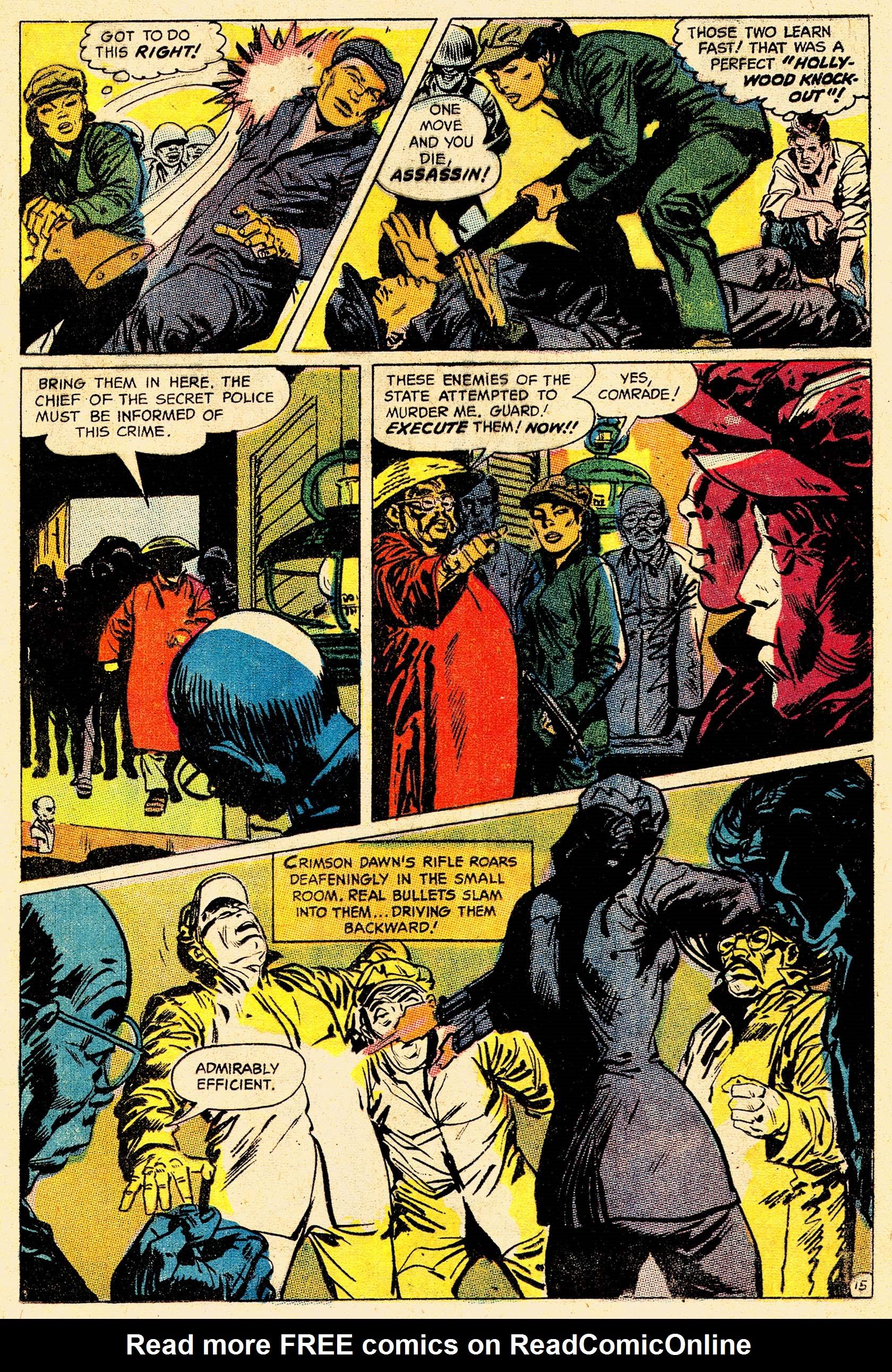 Read online Secret Six (1968) comic -  Issue #4 - 20