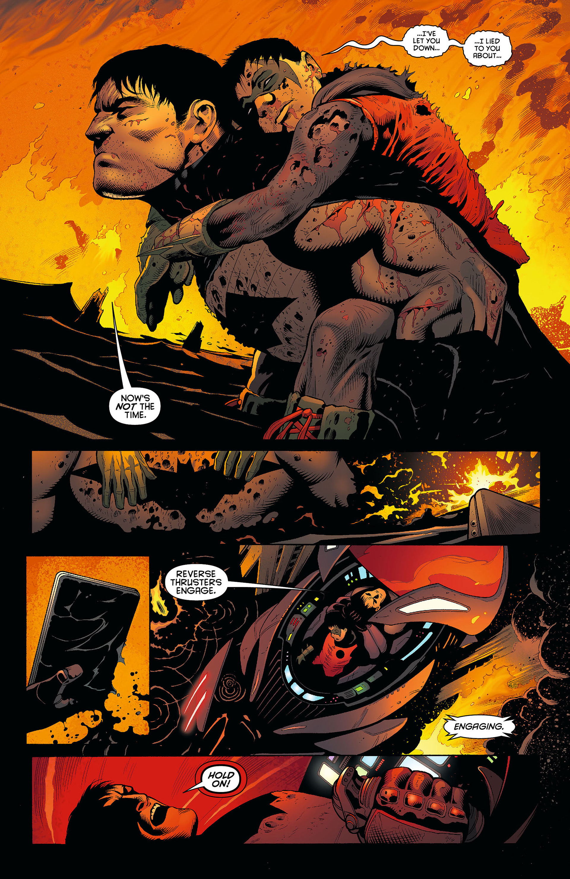 Read online Batman and Robin (2011) comic -  Issue #8 - 5
