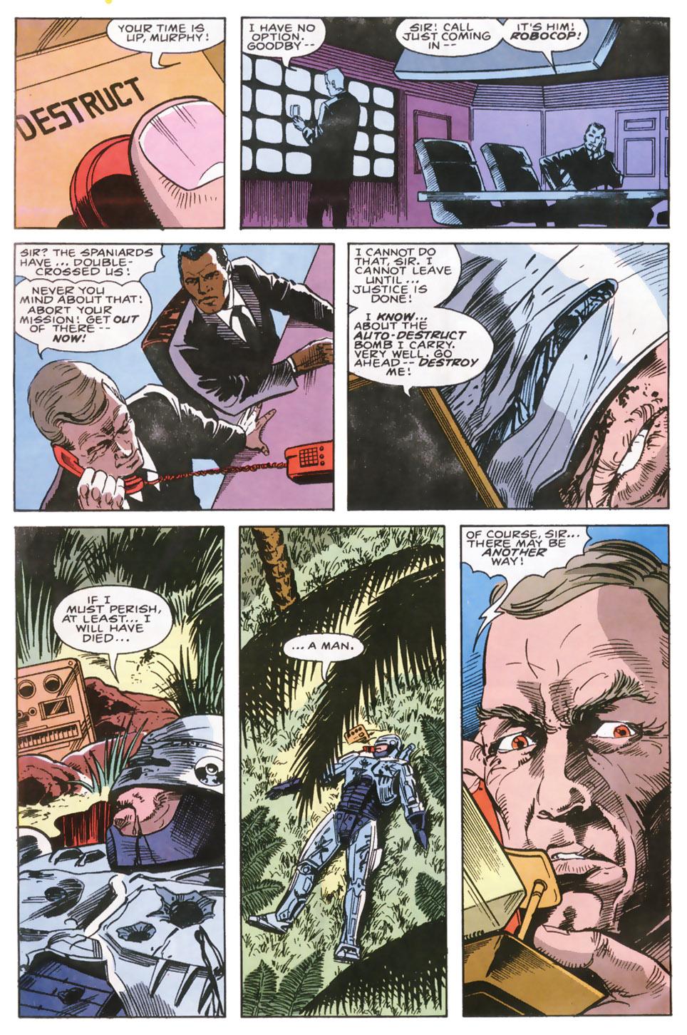Read online Robocop (1990) comic -  Issue #6 - 21