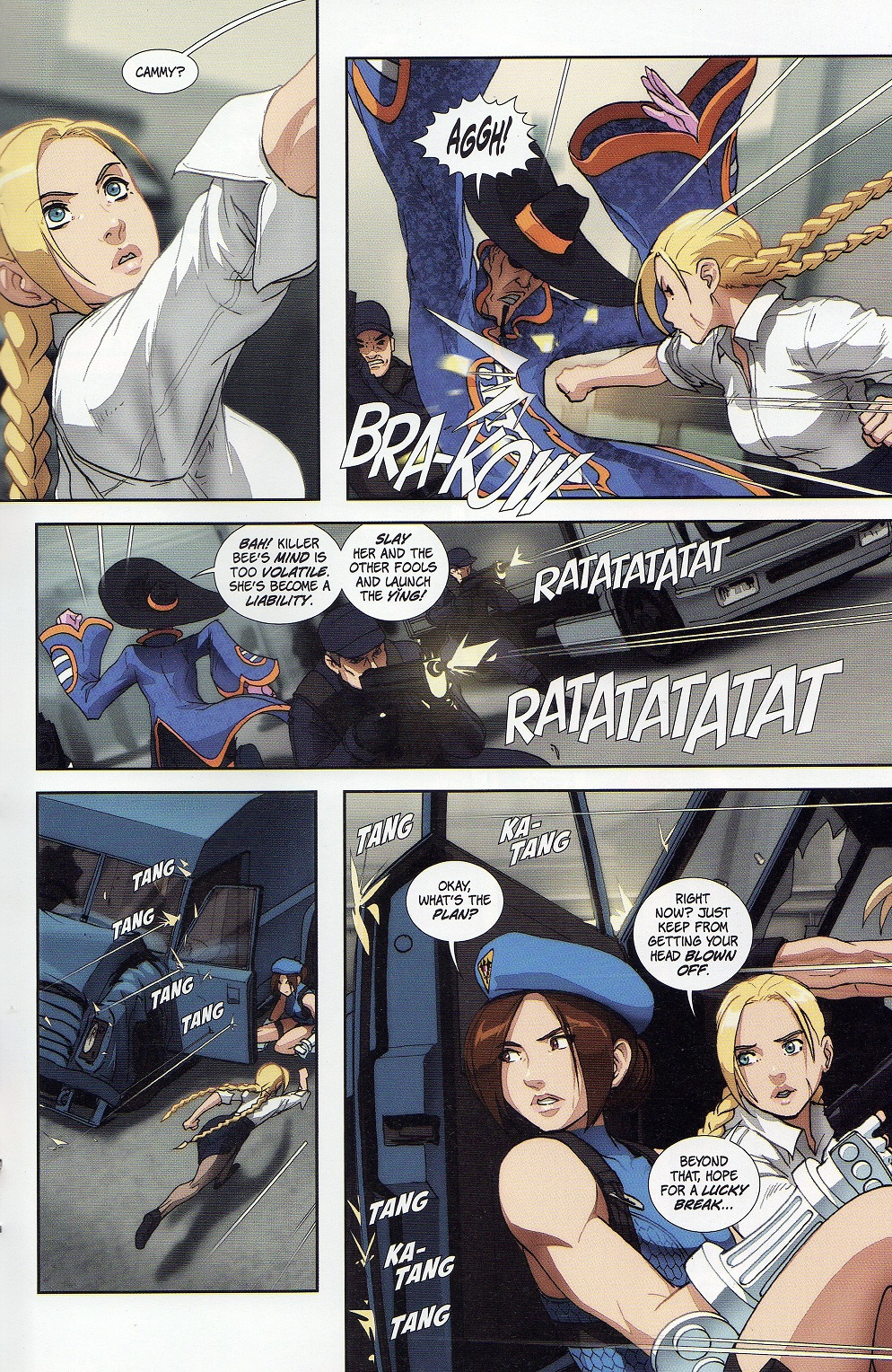 Street Fighter Legends: Cammy 3 Page 21
