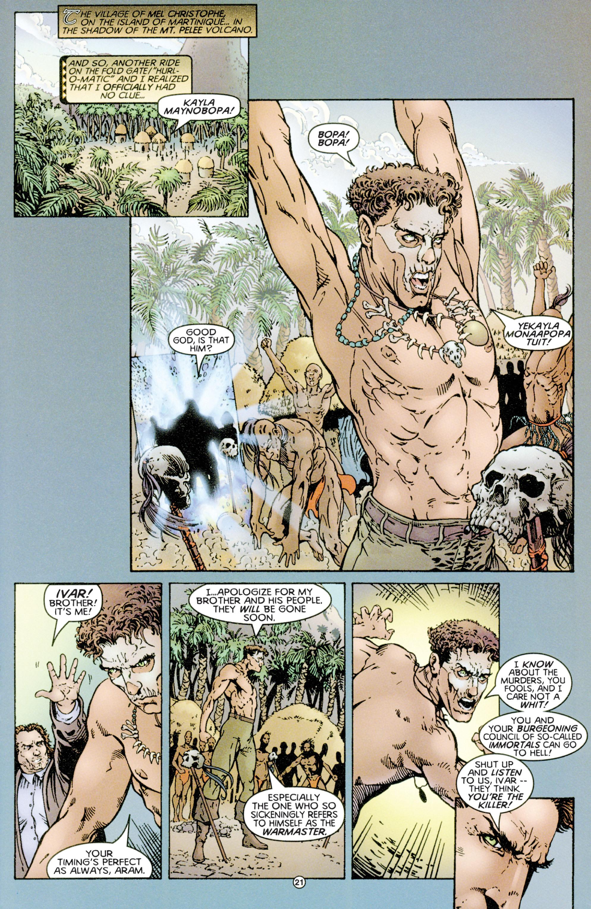 Read online Eternal Warriors comic -  Issue # Issue Time & Treachery - 20