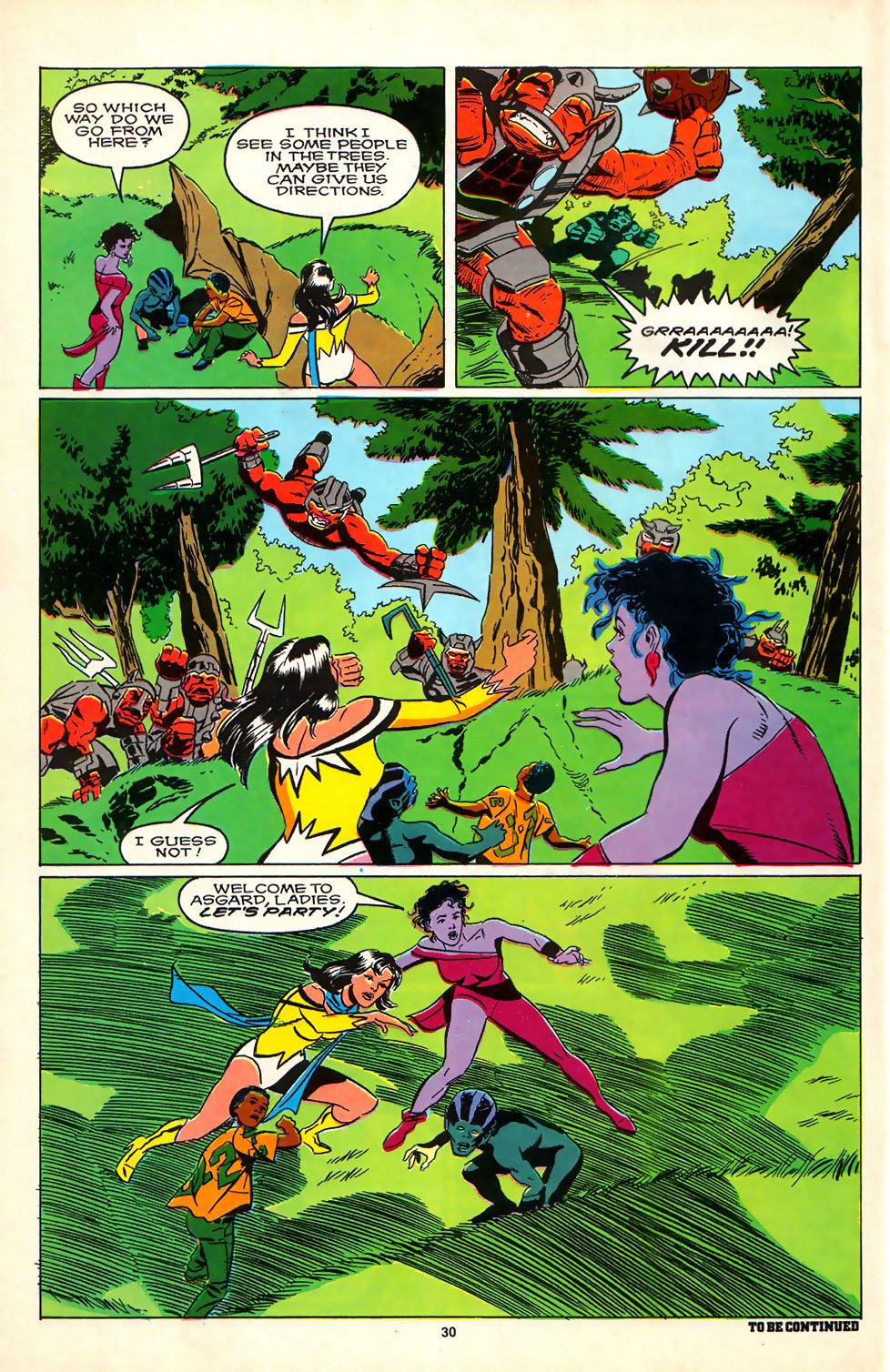 Read online Alpha Flight (1983) comic -  Issue #81 - 24