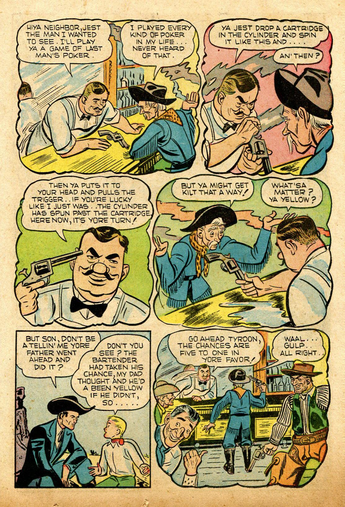 Read online Shadow Comics comic -  Issue #74 - 19