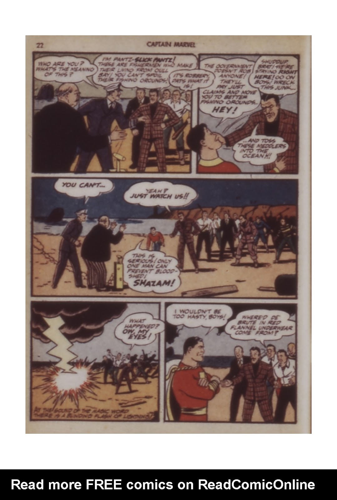 Captain Marvel Adventures issue 12 - Page 22