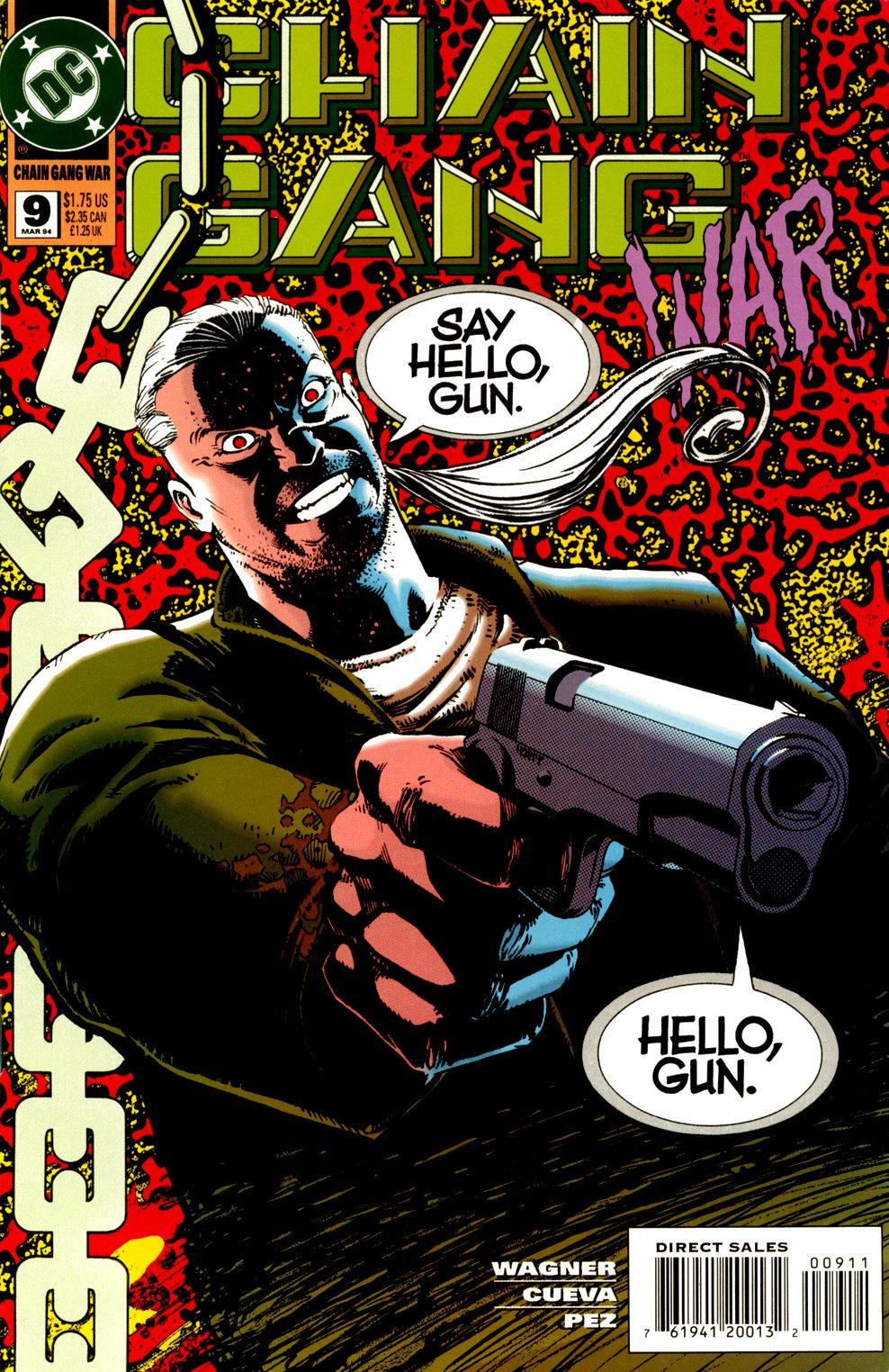 Chain Gang War 9 Page 1