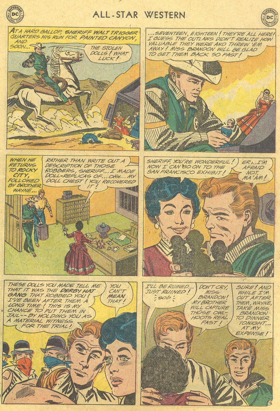 Read online All-Star Western (1951) comic -  Issue #114 - 27