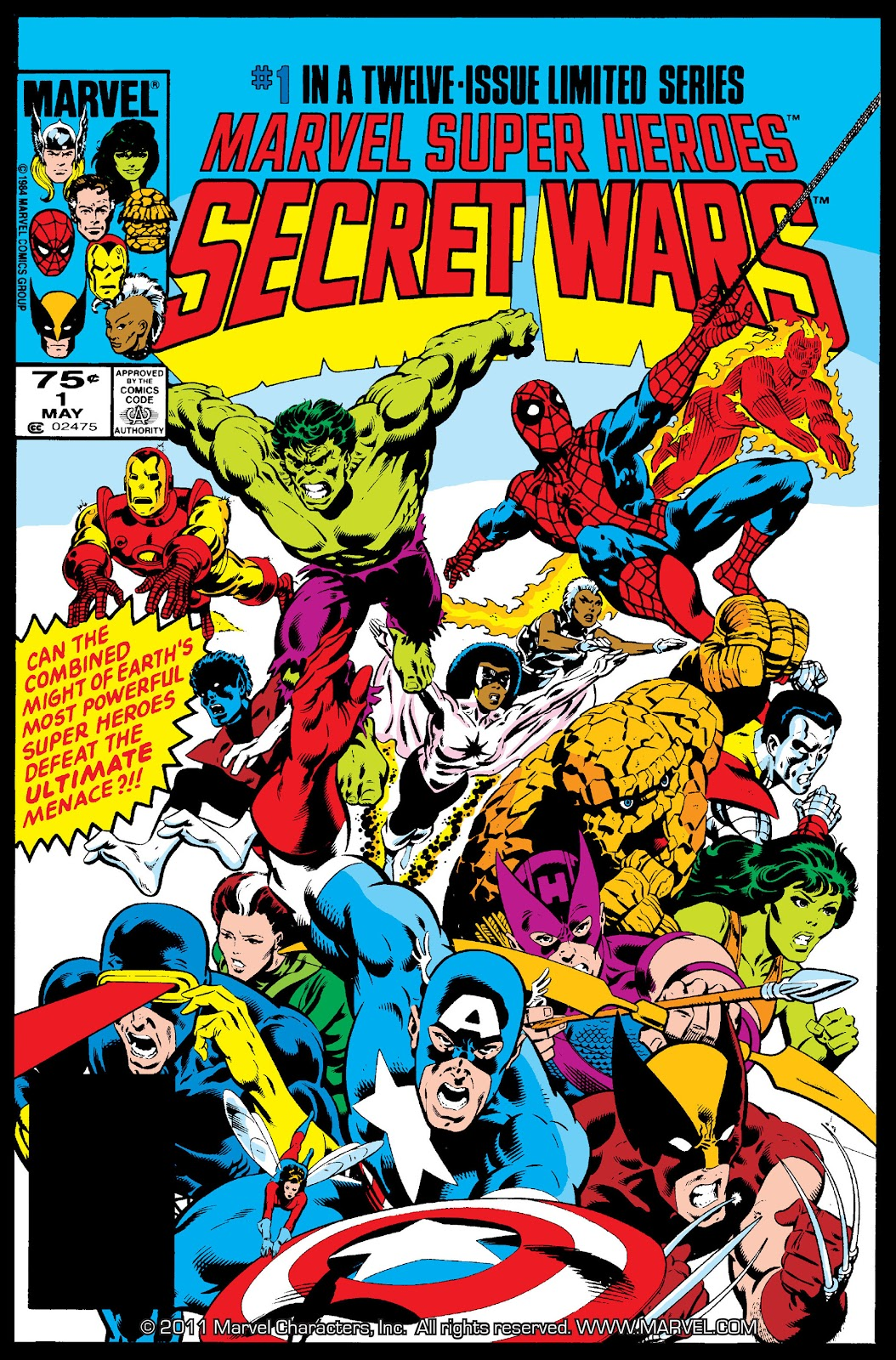 Secret Wars (1985) issue 1 - Page 1