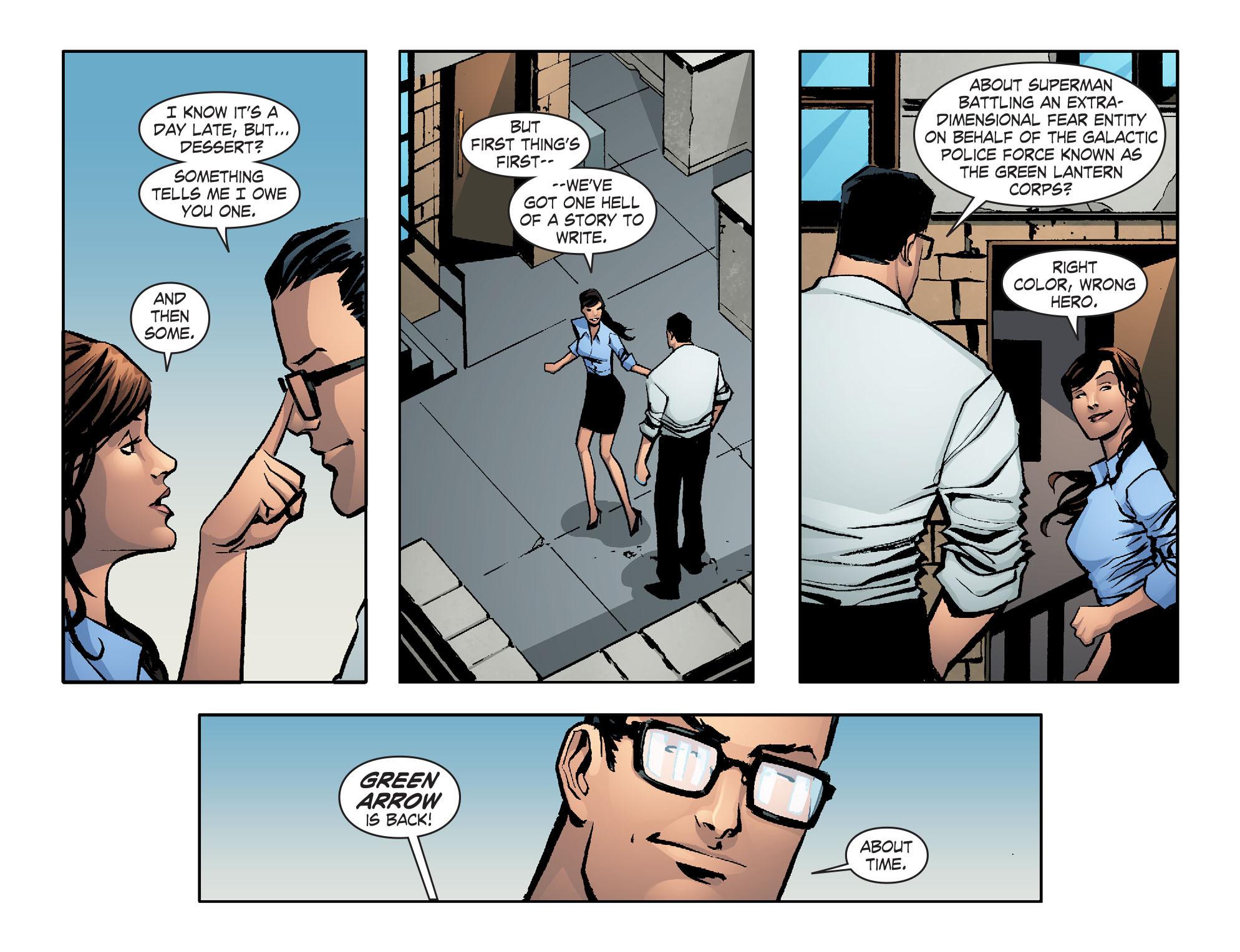 Read online Smallville: Lantern [I] comic -  Issue #12 - 18