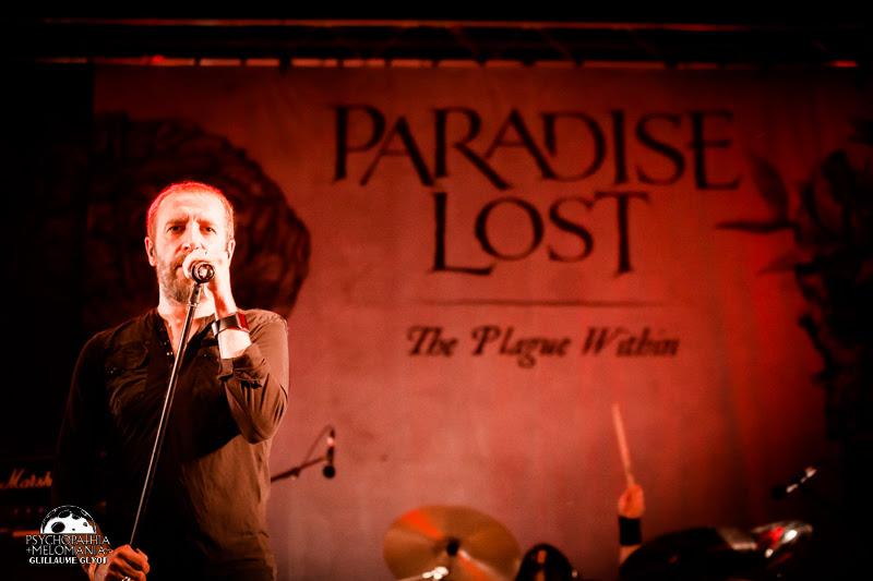 Paradise Lost @Fall Of Summer 2016, île de loisirs de Vaires-Torcy 02/09/2016