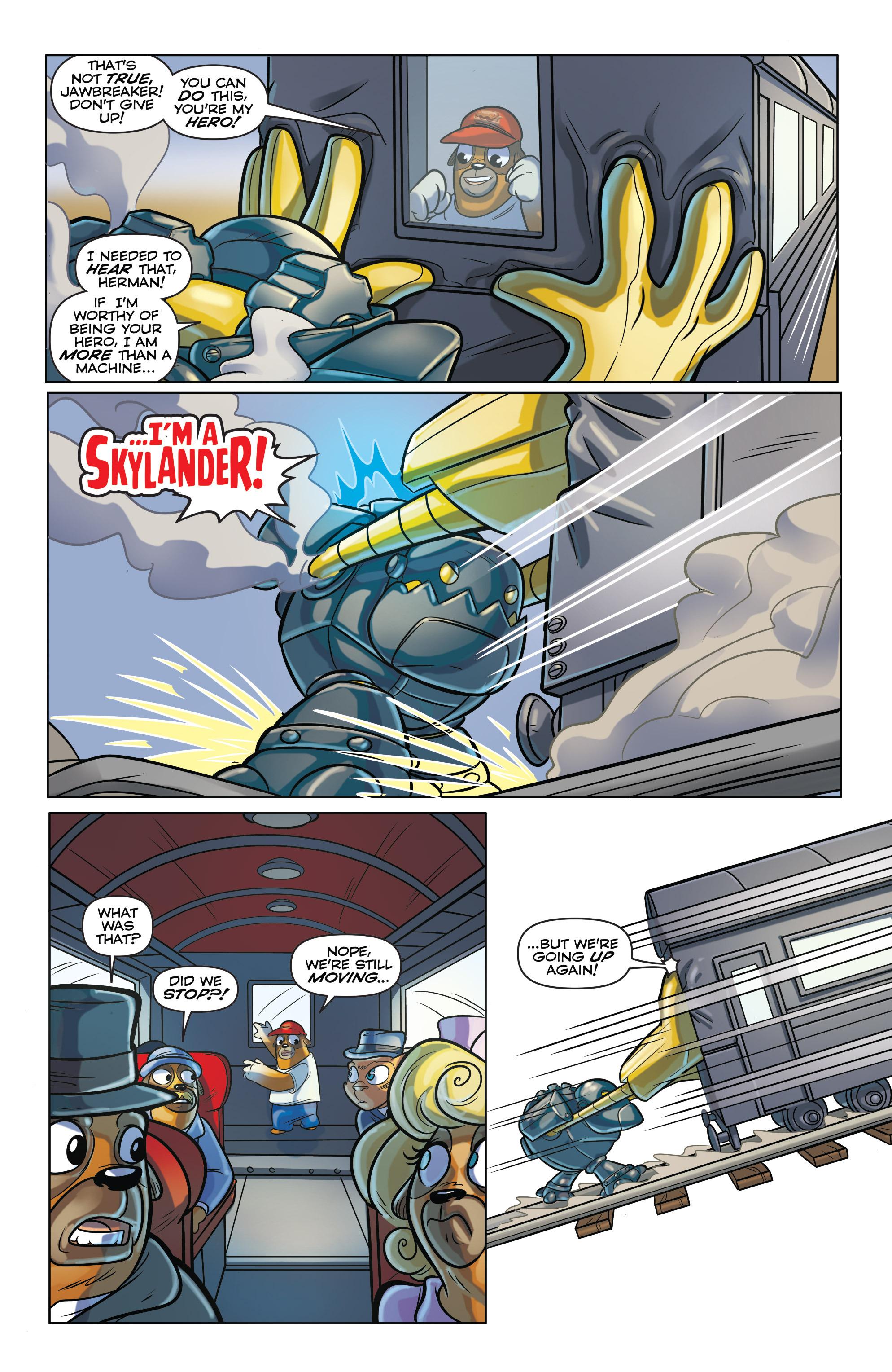 Read online Skylanders comic -  Issue #6 - 15