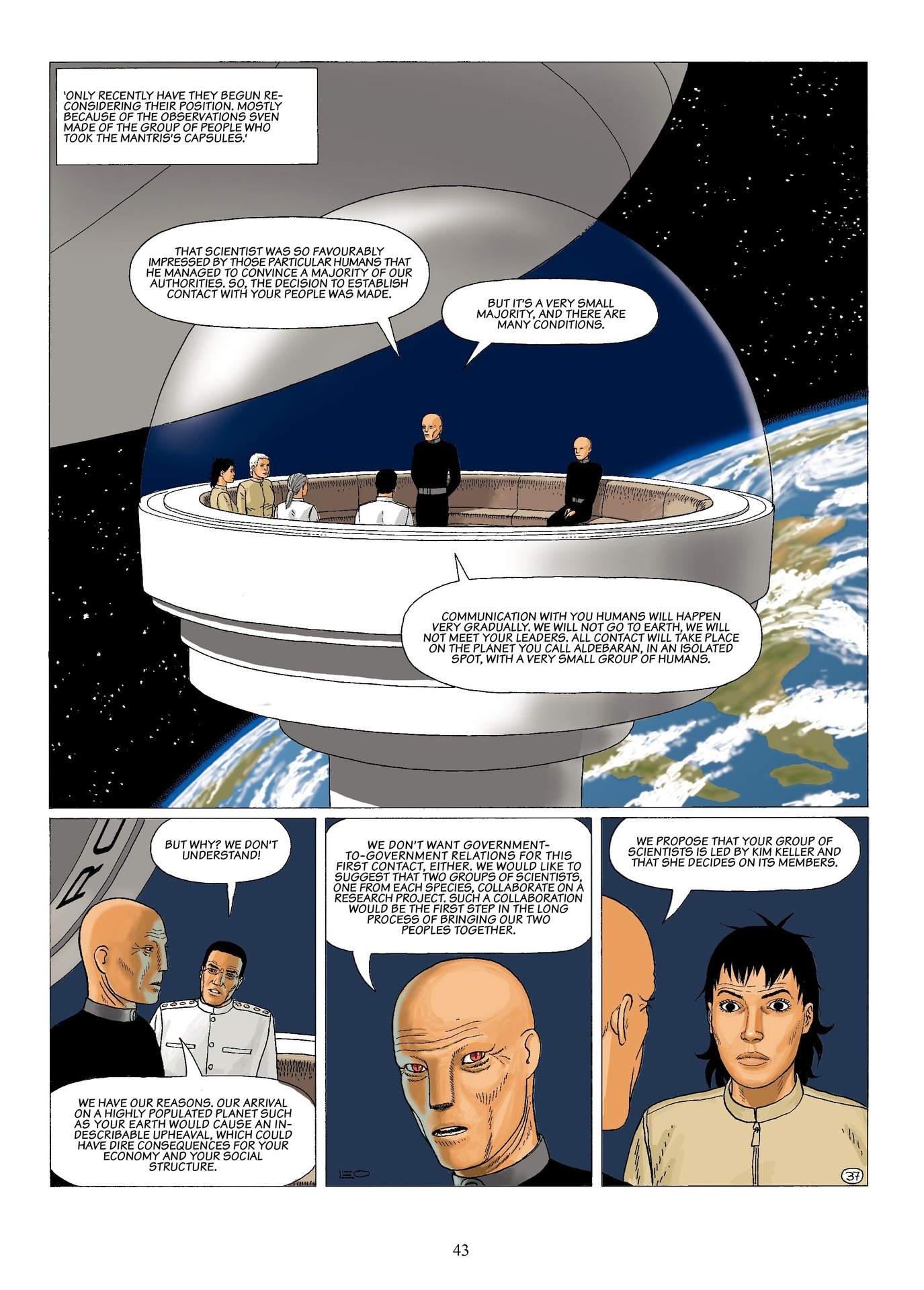 Read online Antares comic -  Issue #6 - 45