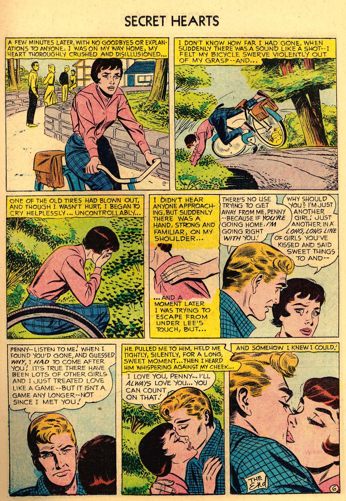 Read online Secret Hearts comic -  Issue #35 - 15