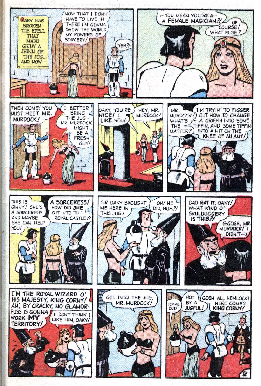 Read online Famous Funnies comic -  Issue #193 - 47
