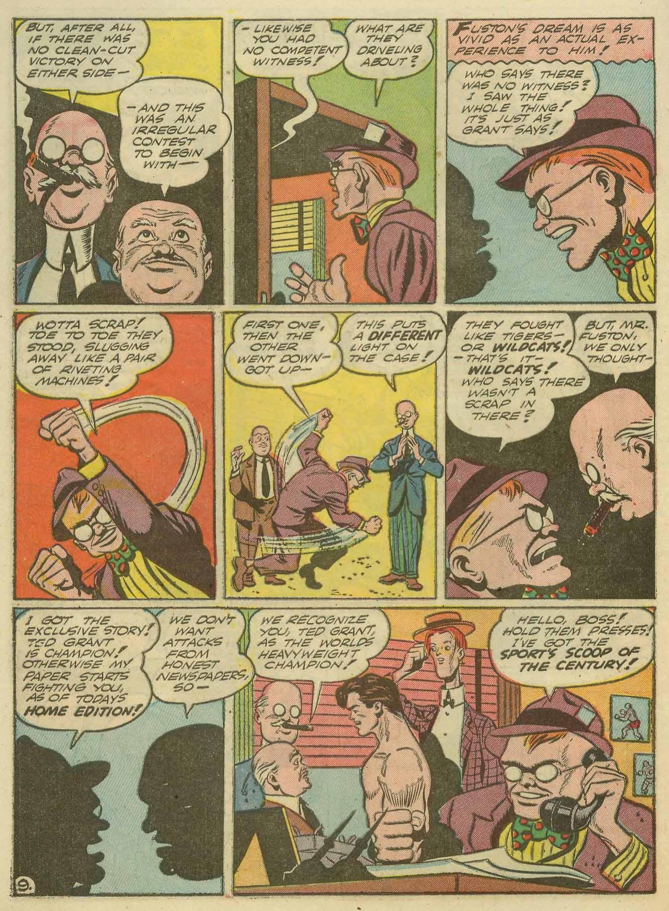 Read online Sensation (Mystery) Comics comic -  Issue #14 - 64