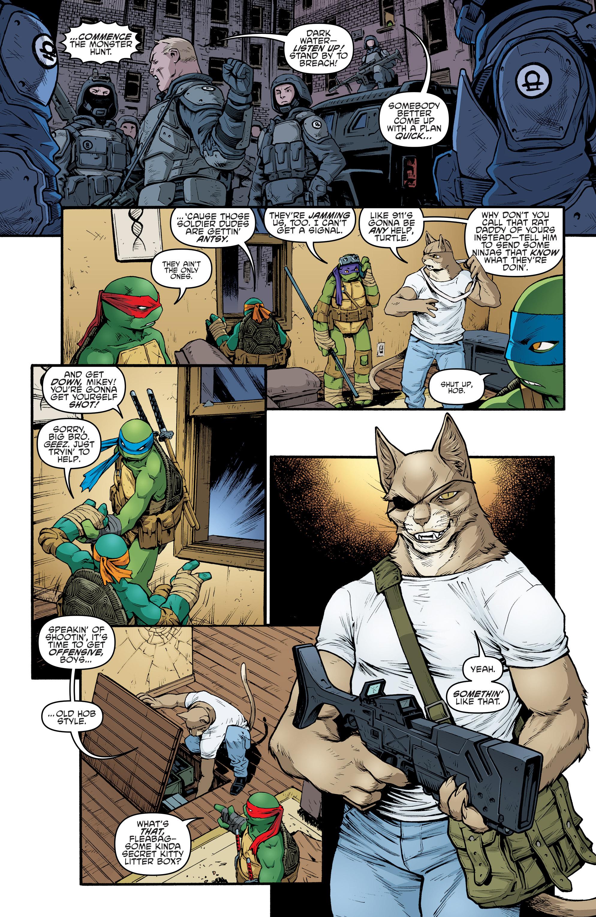 Read online Teenage Mutant Ninja Turtles (2011) comic -  Issue #69 - 10