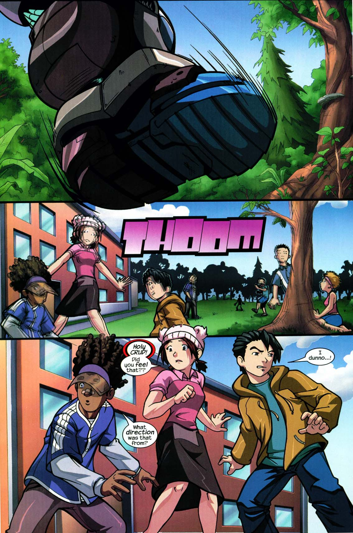 Read online Sentinel comic -  Issue #5 - 22