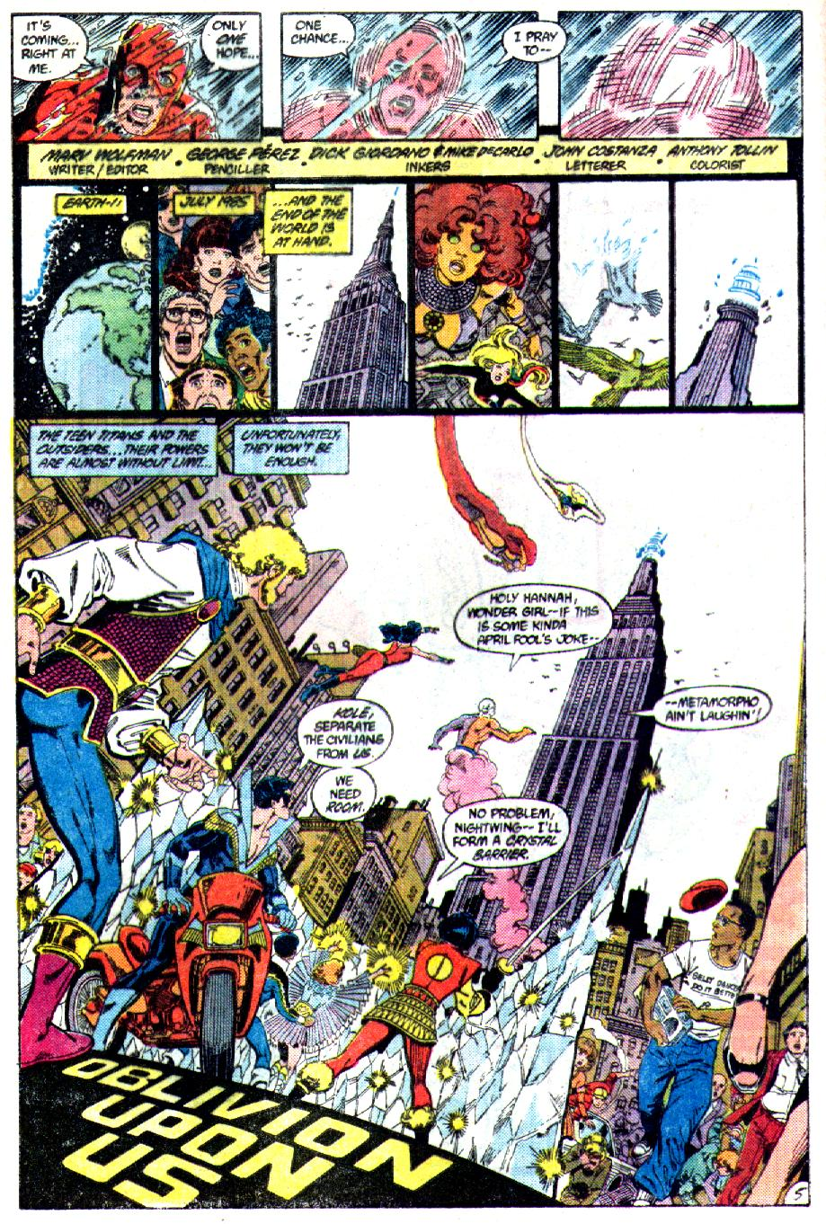 Read online Crisis on Infinite Earths (1985) comic -  Issue #3 - 6