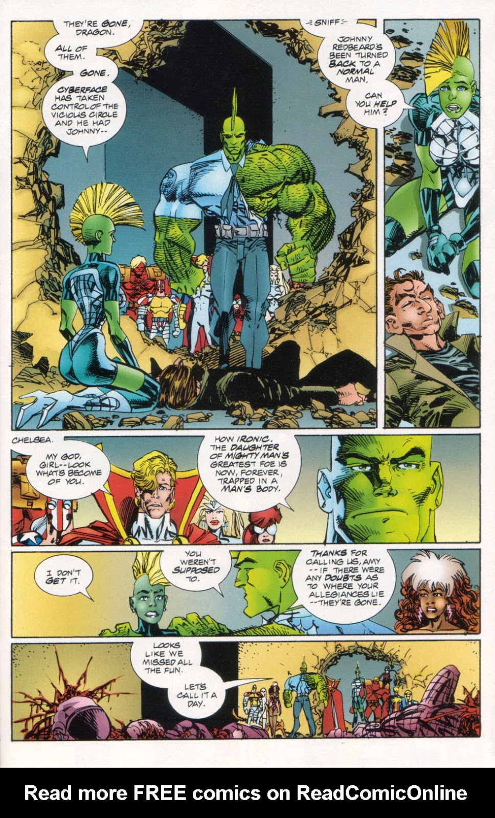 The Savage Dragon (1993) Issue #26 #29 - English 22