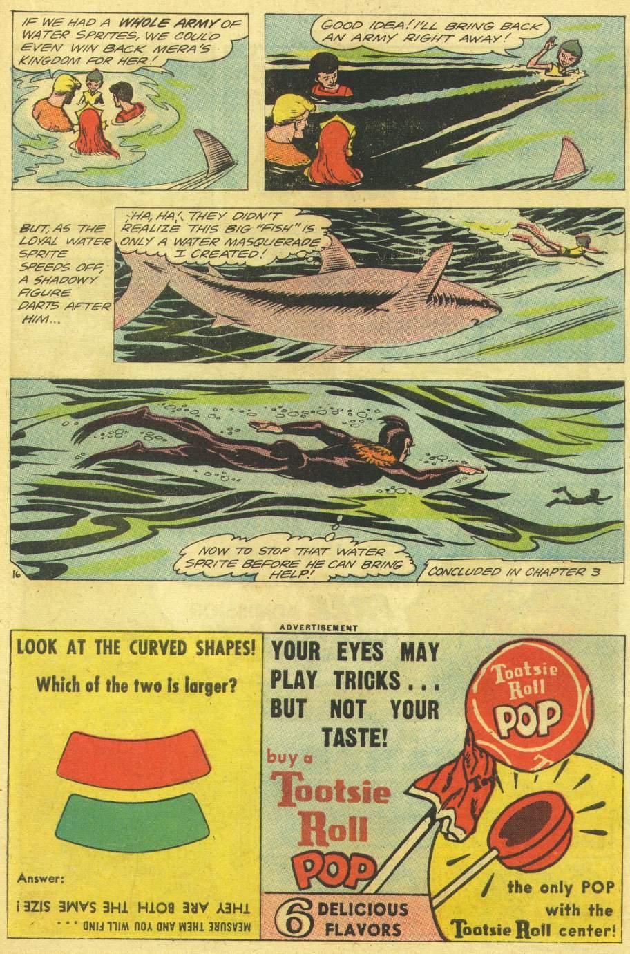 Read online Aquaman (1962) comic -  Issue #11 - 21