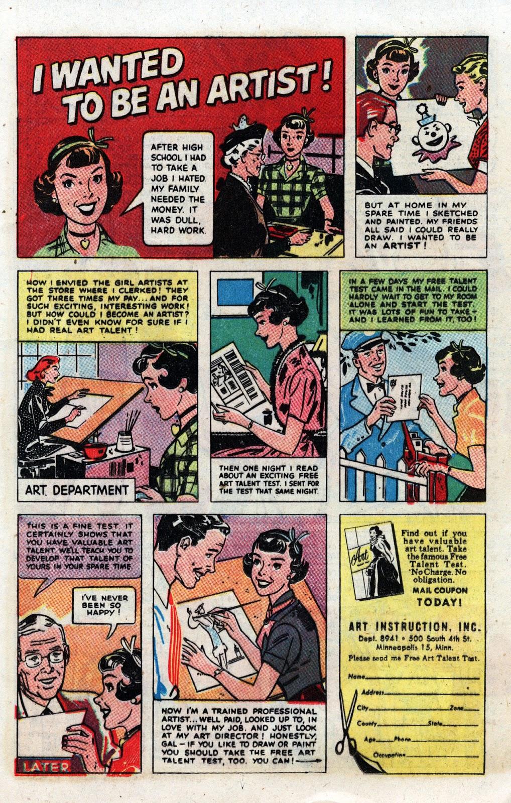 Love Romances (1949) issue 19 - Page 11