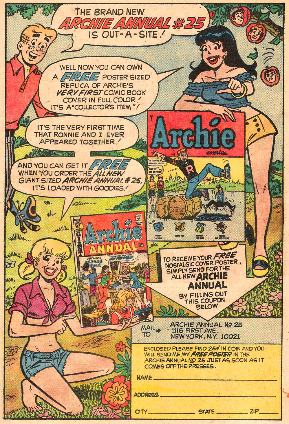 Read online Archie's Girls Betty and Veronica comic -  Issue #211 - 19