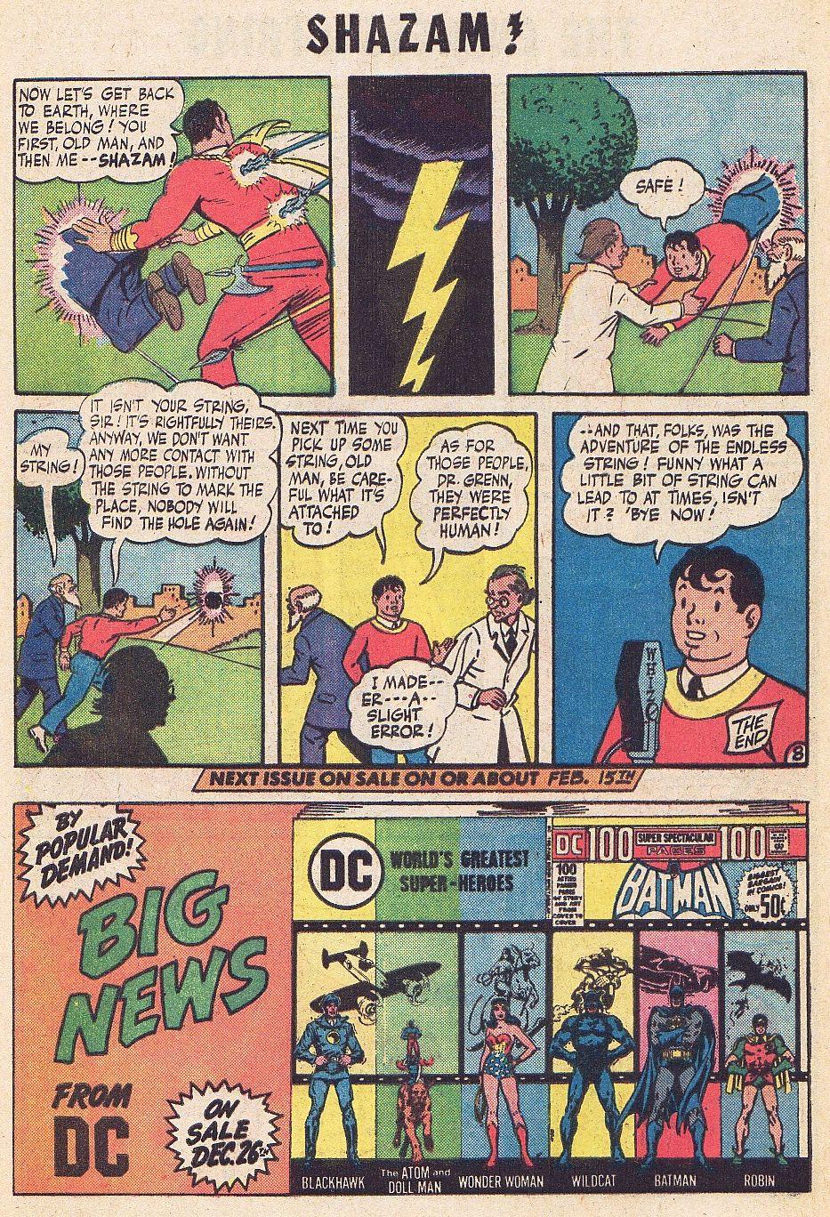Read online Shazam! (1973) comic -  Issue #1 - 26