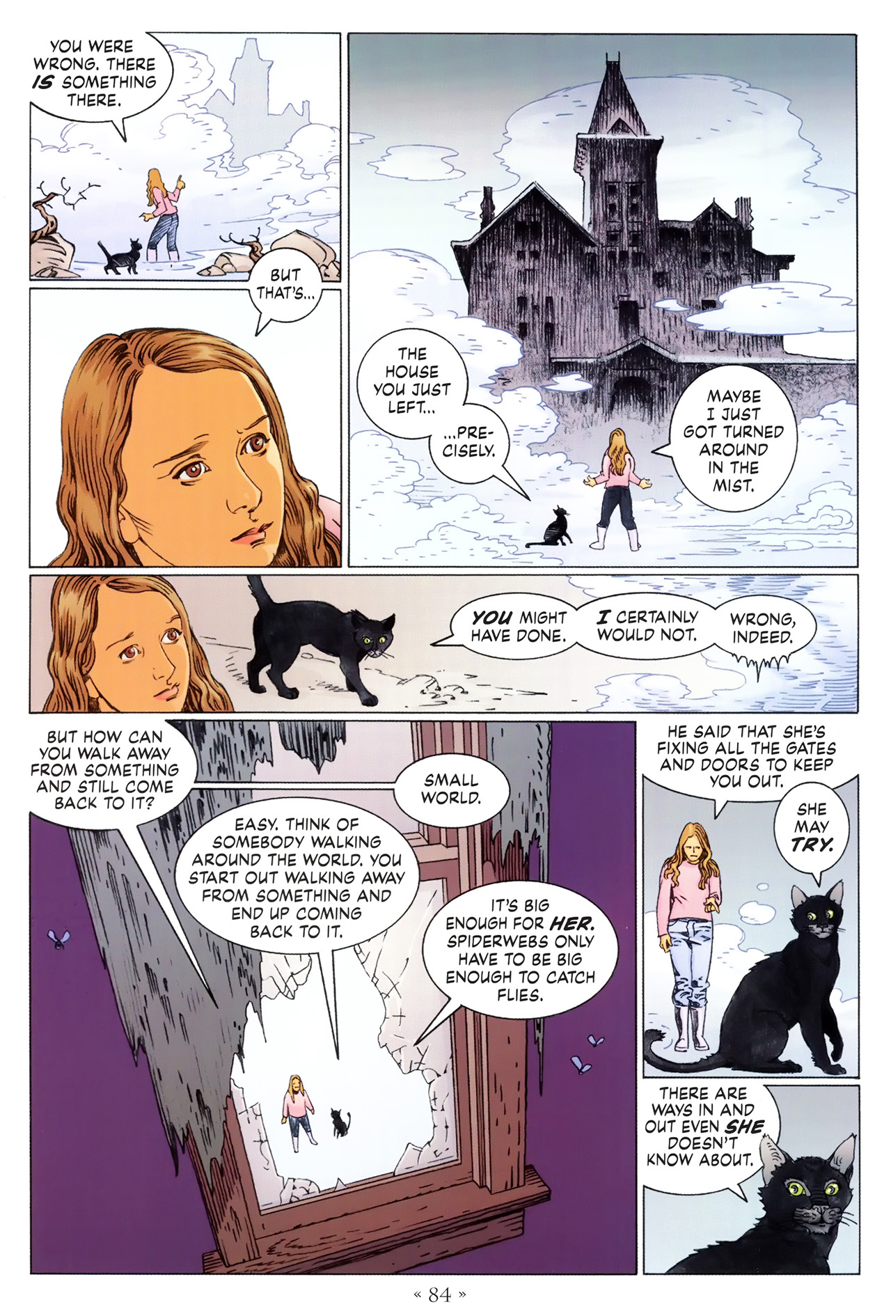 Read online Coraline comic -  Issue #1 - 90