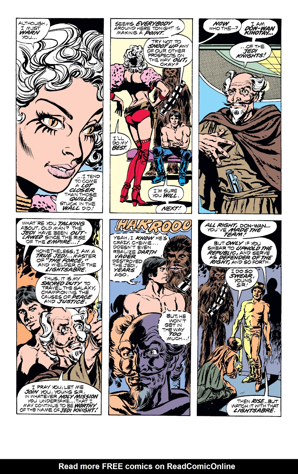 Read online Star Wars Legends: The Original Marvel Years - Epic Collection comic -  Issue # TPB 1 (Part 2) - 44