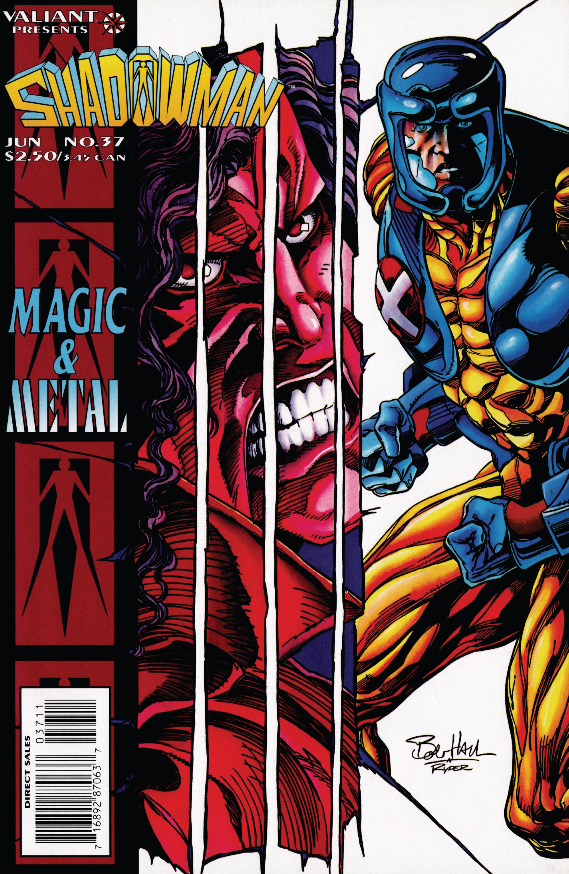 Read online Shadowman (1992) comic -  Issue #37 - 1