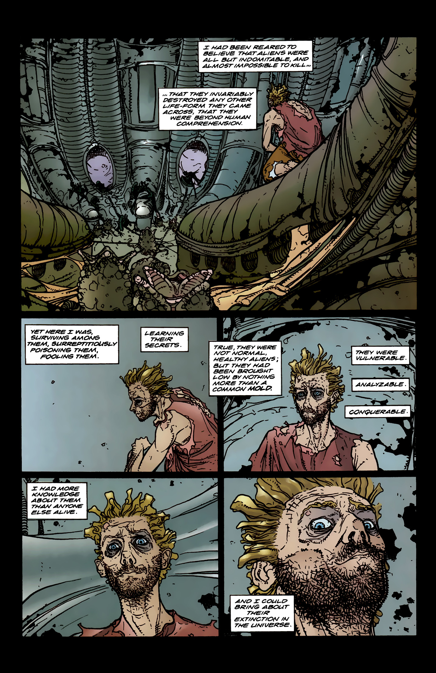 Read online Aliens: Labyrinth comic -  Issue #3 - 23