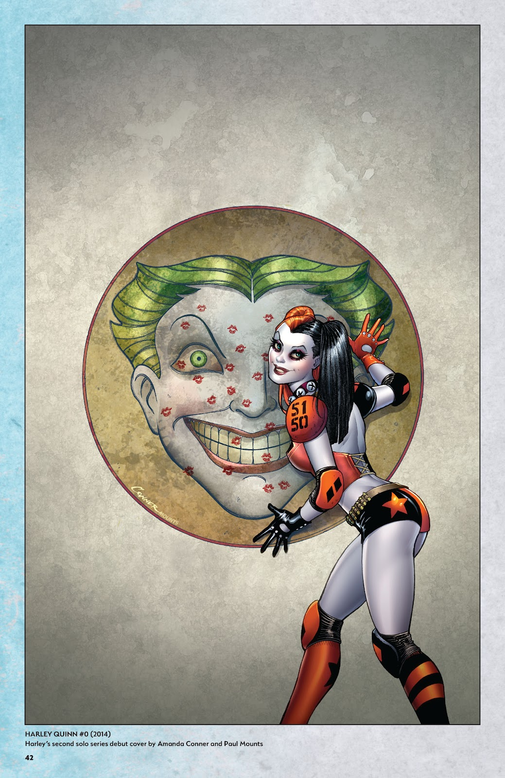 Read online Harley Quinn: A Rogue's Gallery―The Deluxe Cover Art Collection comic -  Issue # TPB (Part 1) - 41